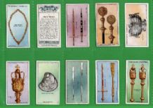 Tobacco Cigarette cards Civic Insignia & Plate 1926